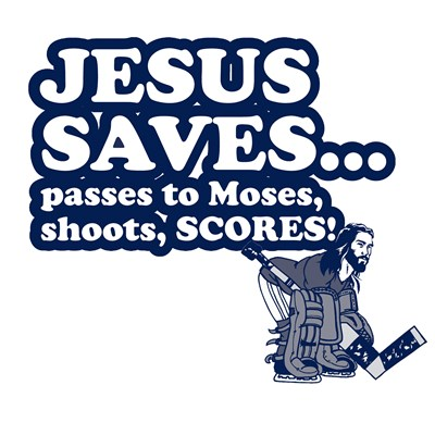 Jesus Saves T Shirt by BurnTees.com