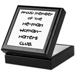 Woman-Haters Keepsake Box