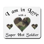 Super Hot Soldier - US Army Mousepad