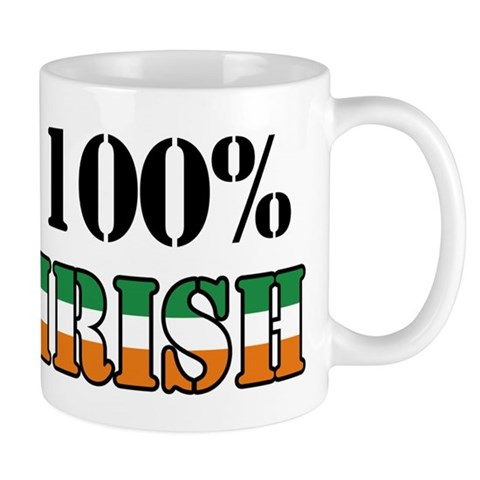 100 Percent Irish Mug