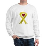 Keep My Son-in-law Safe Ribbon Sweatshirt