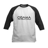 Logical Obama Kids Baseball Jersey
