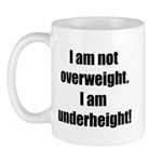I am not overweight... Mug