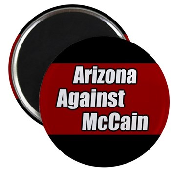 Arizona Against John McCain Magnet