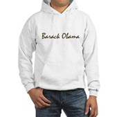Script Barack Obama Hooded Sweatshirt