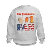 I'm Stephen's #1 Fan Kids Sweatshirt