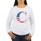 C stands for Colbert Women's Long Sleeve T-Shirt