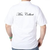 Mrs. Colbert Golf Shirt