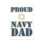 Proud Navy Dad Military Mini Poster Print