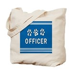 K-9 Police Officer Blues Tote Bag