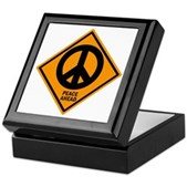 Peace Ahead Keepsake Box