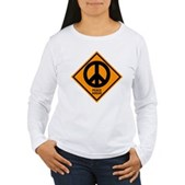 Peace Ahead Women's Long Sleeve T-Shirt