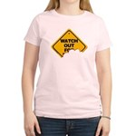 Watch Out! Women's Light T-Shirt