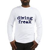 Diving Freak Long Sleeve T-Shirt