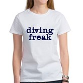 Diving Freak Women's T-Shirt