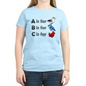 B is for Birdorable Women's Light T-Shirt