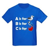 B is for Birdorable Kids Dark T-Shirt