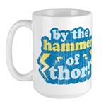 By the Hammer of Thor Large Mug