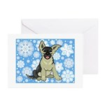 German Shepherd Puppy Holiday Cards