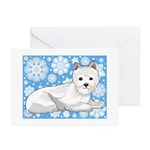 Holiday Westie Christmas Cards