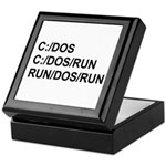 See DOS Run Keepsake Box
