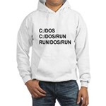 See DOS Run Hooded Sweatshirt