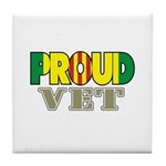 Proud Vietnam Veteran Vet Tile Coaster
