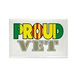 Proud Vietnam Veteran Vet Rectangle Magnet (10 pac