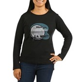 Where's My Quarter? Women's Long Sleeve Dark T-Shi