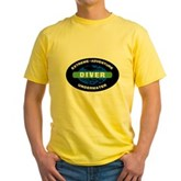 Diver Yellow T-Shirt