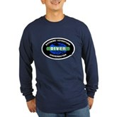 Diver Long Sleeve Dark T-Shirt