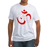 Scuba Flag Om / Aum Fitted T-Shirt