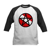 Scuba Flag Pentagram Kids Baseball Jersey