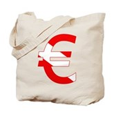 Scuba Flag Euro Sign Tote Bag