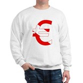 Scuba Flag Euro Sign Sweatshirt