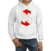 Scuba Flag Dollar Sign Hooded Sweatshirt