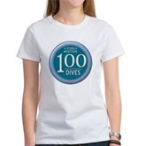 100 Dives Milestone Women's T-Shirt