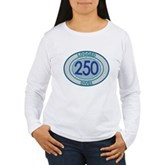 250 Logged Dives Women's Long Sleeve T-Shirt