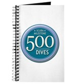 500 Dives Milestone Journal