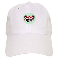 Pirate Panda Cap