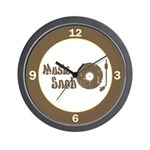 Music Snob Wall Clock