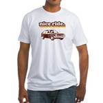 Nice Ride Fitted T-Shirt