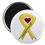 "Keep My Airman Safe Ribbon 2.25"" Magnet (10 pack)"