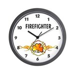 Irish Fire Wall Clock