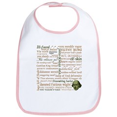 Shakespeare Insults T-shirts & Gifts Bib