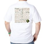 Shakespeare Insults T-shirts & Gifts Golf Shirt