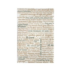 Shakespeare Insults T-shirts & Gifts Rectangle Magnet