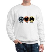 Peace Love Bird Sweatshirt