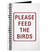 Please Feed the Birds Journal
