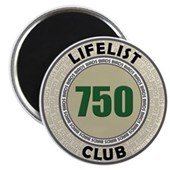 Lifelist Club - 750 Magnet